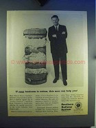 1965 Southern Railway Ad - If Your Business is Cotton