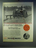 1967 David Brown Tractor Ad - Traction Control Standard