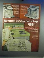 1967 Hotpoint RB690-H, RC549-H, RB641 Range Ad