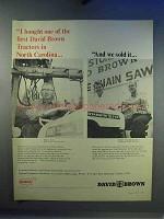 1967 David Brown Tractor Ad - Bought One of the First