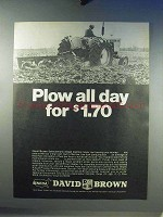 1968 David Brown Selectamatic 1200 Tractor Ad - All Day