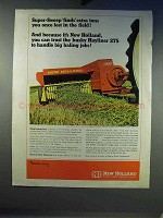 1968 New Holland Hayliner 275 Baler Ad - Super-Sweep