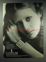 1970 Corum Buckingham Watch Ad - Youngest in Town