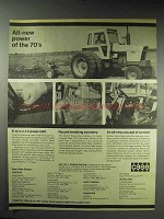 1970 Case 1070 Tractor Ad - Power of the 70's
