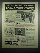 1947 Castle Films Ad - Football Parade of 1946