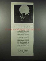 1947 Bausch & Lomb Photographic Lenses Ad - Performance