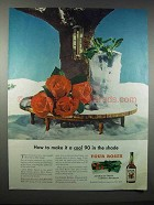 1947 Four Roses Whiskey Ad - How To Make It A Cool 90