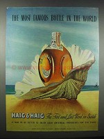 1947 Haig & Haig Scotch Ad - Art by Kapra