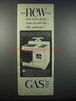 1947 American Gas Association Ad - A New Range