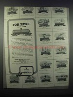 1946 General American Transportation Ad - Tank Cars