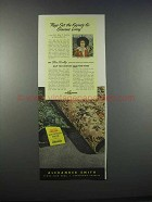 1946 Alexander Smith Rugs Ad - Set the Keynote