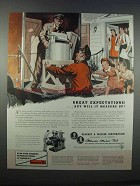 1946 Kearney & Trecker Milwaukee Machine Tools Ad
