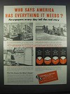 1946 Kearney & Trecker Milwaukee Machine Tools Ad - America