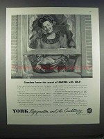 1946 York Refrigeration and Air Conditioning Ad
