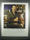 1946 Lord Calvert Whiskey Ad - Mr. Floyd Davis - Sarra