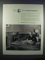 1946 Dictaphone Electronic Dictation Ad - Control