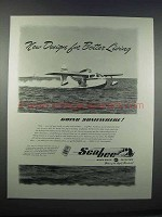1946 Republic Aviation Seabee Plane Ad - Better Living