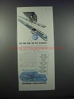 1946 Baltimore & Ohio Railroad Ad - That Streamliner