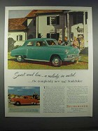 1947 Studebaker Champion Regal De Luxe Ad