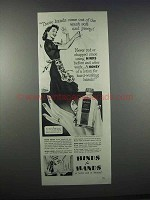 1944 Hinds for Hands Cream Ad - Wash Soft and Pretty