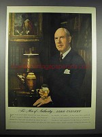 1944 Lord Calvert Whiskey Ad - Men of Authority