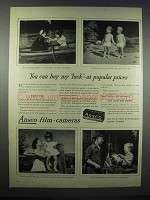 1944 Ansco Film Ad - You Can Buy My Luck