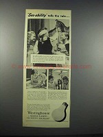 1943 Westinghouse Mazda Lamps Ad - See-ability