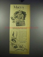 1943 Macy's Department Store Ad - Christmas Cards