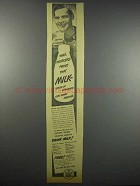 1942 The State of New York Drink Milk Ad - War Workers