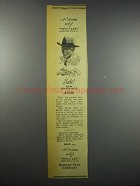 1942 Rogers Peet Beaver Hats Ad - 3 Stores Only