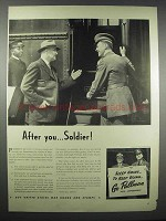 1942 Pullman Railway Cars Ad - After You Soldier