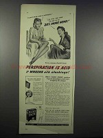 1942 Ivory Snow Detergent Ad - I Don't Know How