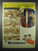 1939 Westinghouse Electric Ad - New York World's Fair