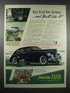 1939 Nash 4-Door Sedan Ad - It'll Lead You Astray