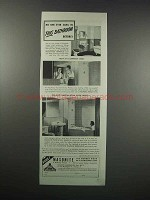 1938 Masonite Presdwood Temprtile Ad - No One Sang