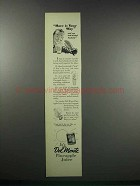1938 Del Monte Pineapple Juice Ad - Have it Your Way