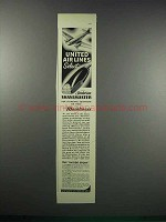 1938 Sunbeam Shavemaster Ad - United Air Lines Select