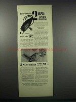 1938 Standard Schick and Colonel Schick Shavers Ad