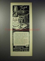 1938 Glenmore's Kentucky Tavern Bourbon Whiskey Ad