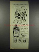1938 Glenmore's Kentucky Straight Bourbon Whiskey Ad