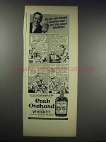 1938 Crab Orchard Whiskey Ad - He Got Wrong Number