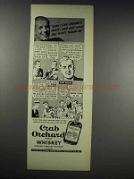 1938 Crab Orchard Whiskey Ad - Can Throw a Party