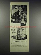 1938 Teacher's Highland Cream Scotch Ad - The Flavour
