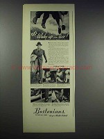 1938 Bostonians Shoes Ad - Feet Wake Up and Live