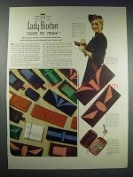 1938 Lady Buxton Ascot, Billfold and Key-Tainer Ad