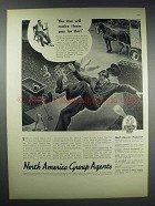 1938 Insurance Company of North America Ad - The Law