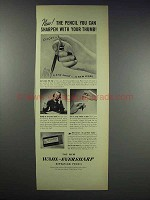 1938 Wahl-Eversharp Repeating Pencil Ad - With Thumb