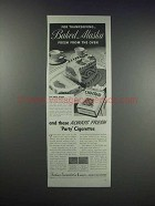 1938 Old Gold Cigarettes Ad - Baked Alaska