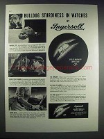 1937 Ingersoll Watches Ad - Bulldog Sturdiness