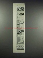 1932 Bass Moccasins Ad - For Men and Women